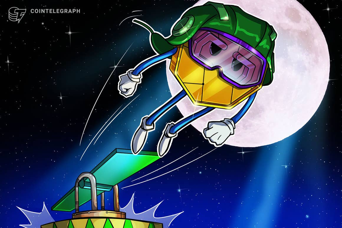 Massive airdrop and AXS staking catapult Axie Infinity to a new all-time high